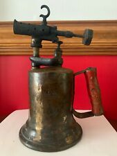 ANTIQUE COLLECTIBLE BRASS BLOW TORCH CLAYTON AND LAMBERT CO Detroit, Mich 1921