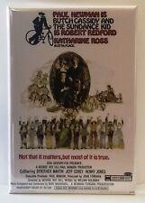 "Butch Cassidy and Sundance Kid Magnet 2""x3"" Refrigerator Locker Movie Poster #2"