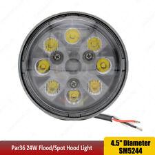 Par36 24w Led Sealed Beam 45 Round Light For John Deere Oem Re336111 Re285628