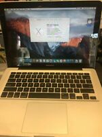 """MacBook Pro 13"""" A1278 2010 2.53Ghz 250GB HDD 4GB RAM"""