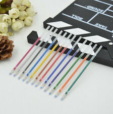 12 pcs Colorful Gel Ink Pen Refills Stationery School Supplies For Student