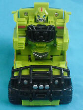 Transformers Ratchet Cyber Slammer, wind-up green Hummer Autobot, © 2006 Hasbro