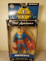 DC Direct First Appearance SUPERMAN Action Figure Open Box Rough Box