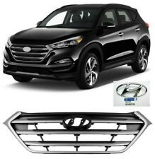 NEW Bumper Radiator Front Grille for TUCSON 2016 2017 2018 with OEM Emblem