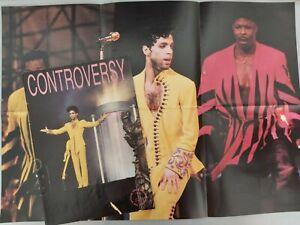 PRINCE CONTROVERSY No 36 1992 WITH POSTER RARE UK FANZINE MAGAZINE