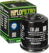 HF183 Piaggio XEvo 125 Sport 2014-2016 Filtrex Black Canister Oil Filter