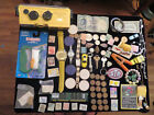 junk+drawer+lot+coins+lot+MINOLTA+WEATHERMATIC+A+Camera+watches+jewelry+lot+old
