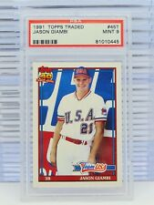 1991 Topps Traded Jason Giambi Team USA XRC Rookie RC #45T PSA 9 MINT (445) D32
