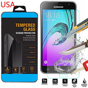 9H ULTRA CLEAR TEMPER GLASS SCREEN PROTECTOR For Samsung Galaxy J3 2016 Version