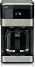 Braun BrewSense 12-Cup Drip Coffee Maker Brew Strength Selector Stainless Steel