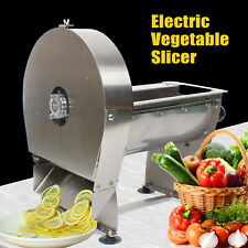 Electric Meat Slicer Commercial Food Industrial Restaurant Cutter 010mm Kitchen