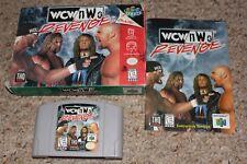 Wcw NWO Revenge (Nintendo 64 n64) Complete in Box GOOD