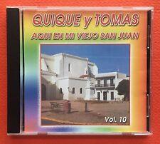 Quique Y Tomas Aqui En Mi Viejo San Juan V10 CD CANAL 1991 Puerto Rico