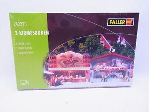 83352 Faller N 242320 Loges Foraines 2 Pièce Foire Kit Neuf Emballage D'Origine