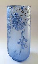 JUGENDSTIL DAUM NANCY CAMEO GLAS VASE ANTIQUE ART NOUVEAU GLASS PATE DE VERRE
