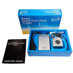 Kenro Radio Slave Flash Trigger and Receiver Kit