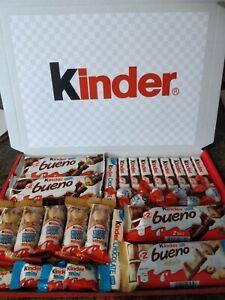 LARGE KINDER PERSONALISED CHOCOLATE GIFT BOX HAMPER BIRTHDAY CHRISTMAS