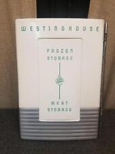 Westinghouse Frozen Storage Door Vtg Aluminum Mid Century Wall Art