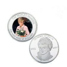 Princess Diana 20th Anniversary Metal Coin Last Rose of England Souvenir Coin