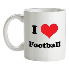 I Love Football Mug - Soccer - Shirts - World Cup - Player
