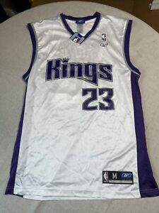 AUTOGRAPHED Kevin Martin Sacramento Kings White Home Reebok NBA Jersey NEW!