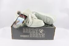Vintage 90s New Rocky Mens 9 W DuPont CoolMax Sportsman Lace Up Dad Shoes Gray