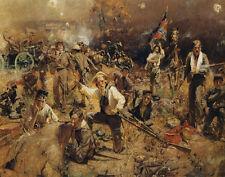 Gaul Gilbert William Glorious Fighting Canvas 16 x 20  #3075