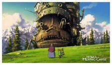 Howl's Moving Castle POSTER - AMAZING - Howls Miyazaki Studio Ghibli JAPANESE
