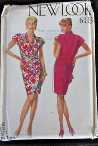 New Look Sewing Pattern 6113 Six sizes in one Size 32 - 44 Uncut