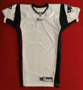 New England Patriots 2006 Reebok Blank Pro-Cut Game Issue Road Jersey Size 42