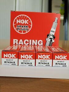 NGK R7434-9 Racing Spark Plug x 4