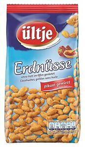 (6,39€ / 1kg) Ültje Erdnüsse ohne Fett geröstet pikant gewürzt 1kg