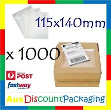 1000x 115 x 140mm Invoice Doculope Sticker Document Enclosed Pouch Clear Premium