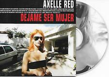AXELLE RED - Dejame ser mujer CD SINGLE 2TR CARDSLEEVE 1998 BELGIUM