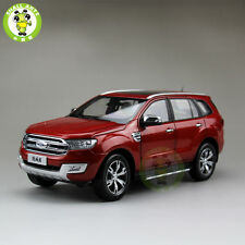 1/18 Scale China Ford Everest SUV Form Ranger Diecast Car Model Toys Red