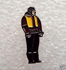 WW11 Fighter Pilot enamel pin / lapel badge Air Force
