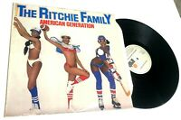 American Generation by The Ritchie Family LP DUTCH IMPORT disco CHEESECAKE SEXY
