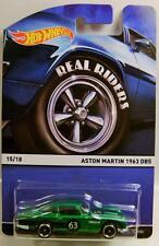 1963 '63 ASTON MARTIN DB5 15/18 HERITAGE RR REAL RIDERS HOT WHEELS HW 2015 '15