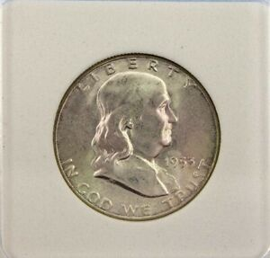 1953-S FRANKLIN SILVER 50 CENTS GEM UNCIRCULATED FBL RARE THIS NICE!!
