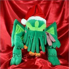 "NEW Large Santa Cthulhu Plush Toy Vault 16"" H.P. Lovecraft Christmas Holiday"