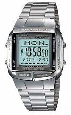 Casio Men's Digital Data Bank Watch, Silver, DB-360-1ADF