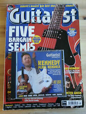Guitarist Magazine Issue 09 September 1999 Rare O.O.P Good Condition with CD