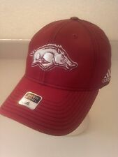 more photos 626e0 992ce Arkansas Razorbacks Flex Fit Cap Red New NCAA SEC adidas