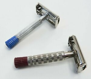 2 Gillette Super Speed Razors for Heavy & Light Beards