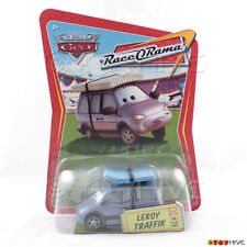 Disney Pixar Cars Leroy Traffik #28 van with matress RaceORama RoR series Mattel