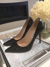Jimmy Choo Pumps Anouk Black High Heel  SZ 35 Or 5 Classic Patent Leather