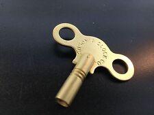 Ansonia Clock Key #6 Key 3.6mm New Solid BrassTrademark