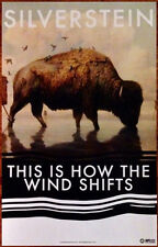 SILVERSTEIN This Is How The Wind Shifts Ltd Ed Discontinued Poster +FREE Poster!