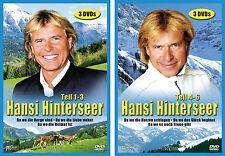 6 DVDs * HANSI HINTERSEER  -  BOX 1 + 2  ~  TEIL 1 - 6 # NEU OVP %