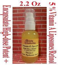 2.2oz 5% Vitamin A Liposomes/Retinol + E,Encapsulated,High-dose,Hyaluronic Serum